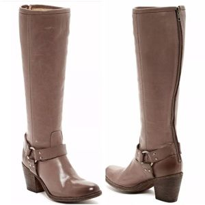 Frye Tall Tabitha Harness Boot